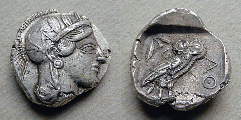Athenská tetradrachma